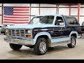 1983 Ford Bronco Blue