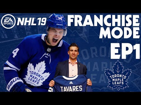 NHL 19 Toronto Maple Leafs Franchise Mode EP1 - Starting Up!