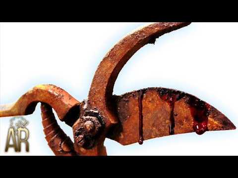 Antique Poultry Shears Rebuild - Scary Edition