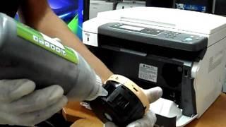 เติมหมึกเปลี่ยนชิป refill cartridge Xerox P105 P205 M105 M205