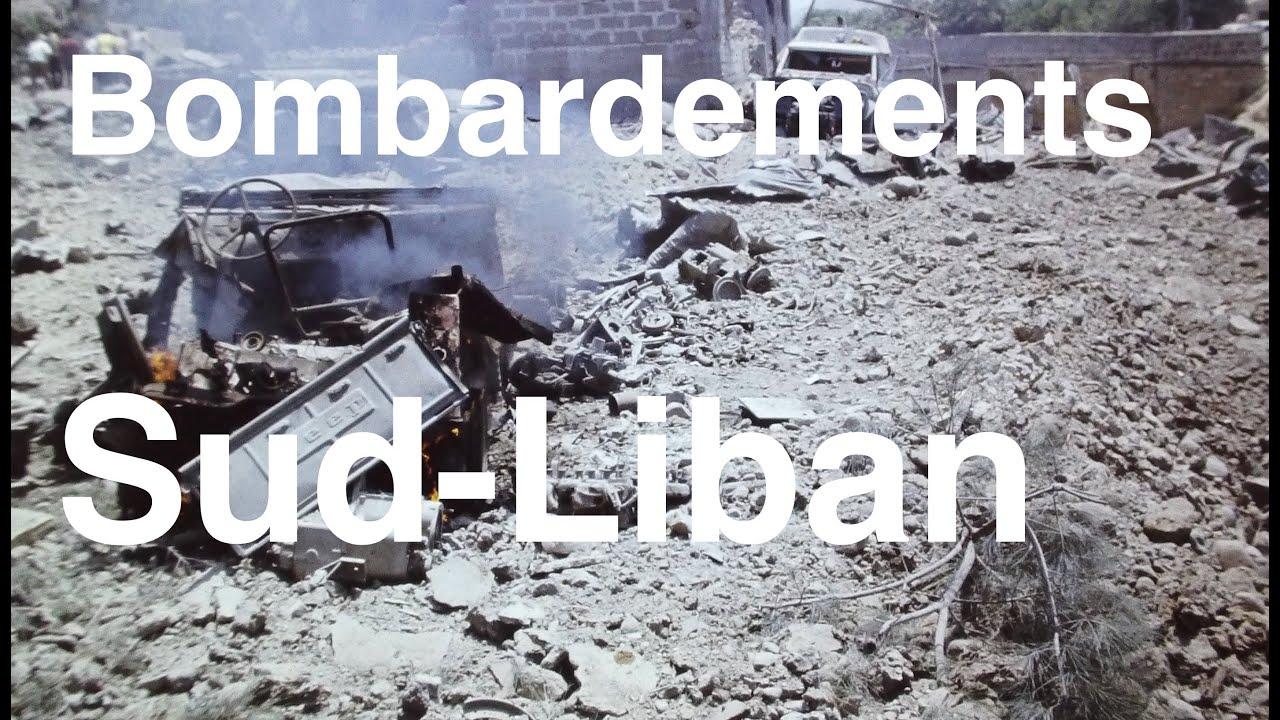 Bombardements au Sud Liban