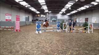 pony jumping kinderen| Lisa De Moor in proef 70cm