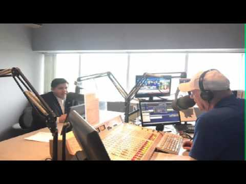 JB Pritzker speaks with Tom Miller on WJPF Morning Newswatch