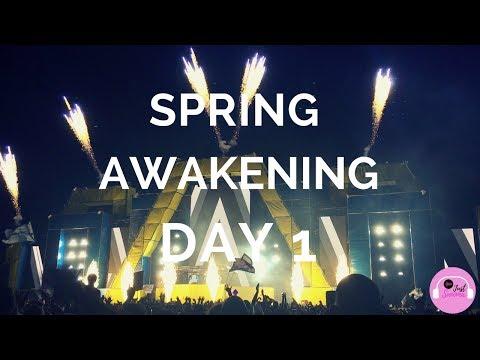 Spring Awakening Music Festival 2017 - Day 1 Vlog