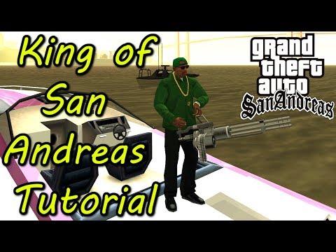 "GTA SA 🔫 German ∞ ""King Of San Andreas"" Erreichen Tutorial ∞ GTA San Andreas Gameplay Deutsch"