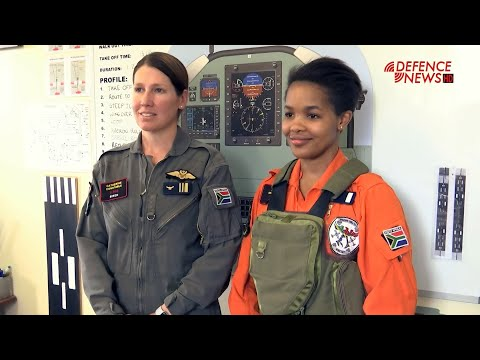 Meet South Africa's Female Fighter Pilot Student Zinzisa Makalima: The Young Candidate Officer