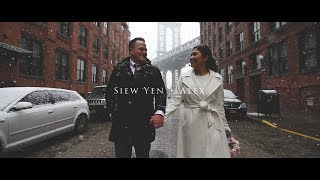 ELOPEMENT IN NYC on a snowy day! Full Length Elopement Video