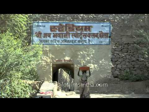 Remains of Dausa fort now sports club
