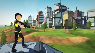 Cyber Fortress: Cyberpunk Battle Royale Frag Squad