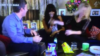 Hand Shake Fail From Noel Gallagher On Gogglebox With Naomi Campbell And Kare Moss