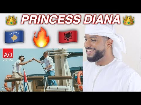 ARAB REACTION TO ALBANIAN MUSIC BY Ledri Vula ft. Lyrical Son - Princess Diana **BEAUTIFUL**