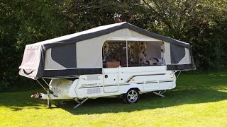 Pennine Pathfinder Folding Camper - The Camping and Caravanning Club