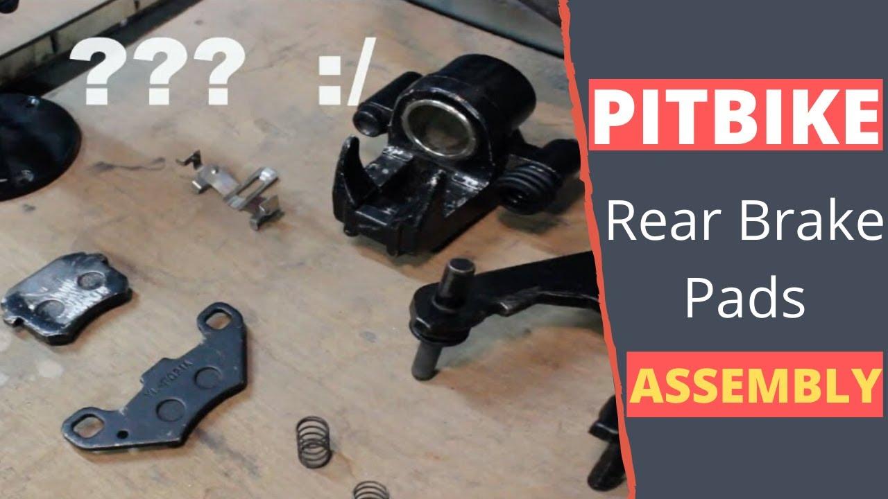 Pitbike Rear Brakes Assembly Finally Youtube Ogm Pit Bike