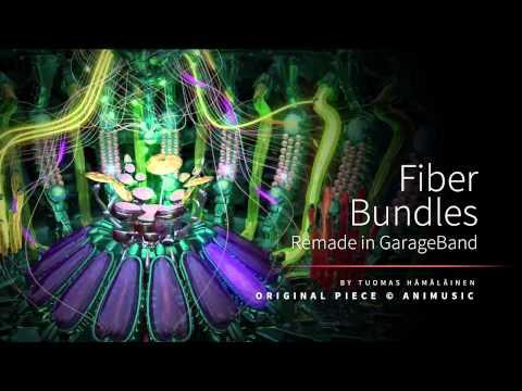 Fiber Bundles (Animusic) remade in GarageBand