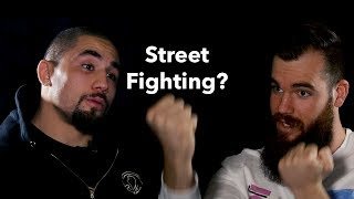 Why Robert Whittaker Hates Street Fights