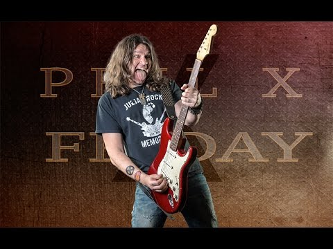 Phil X and a taste of the Candy Apple 1964 Fender Stratocaster
