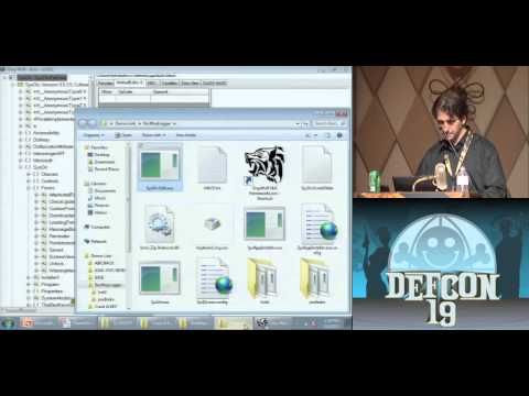 DEF CON 19 - Jon McCoy - Hacking .Net Applications: The Black Arts