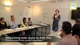 Voice training and English Accent taster lesson - The London School of English