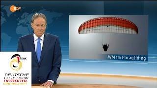 Incl.: ZDF heute - Paragliding WM - Team Deutschland - Task 7