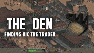 The Story of Fallout 2 Part 3: Finding Vic the Trader at The Den - Fallout 2 Lore