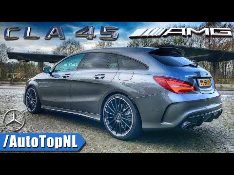 Mercedes AMG CLA 45 Shooting Brake LOOKS SOUND & DRIVE by AutoTopNL