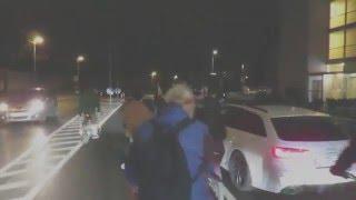 Attacke eines Autofahrers auf der Critical Mass Linz