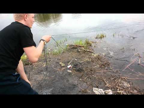 Рыбалка на сеть. Москварека.