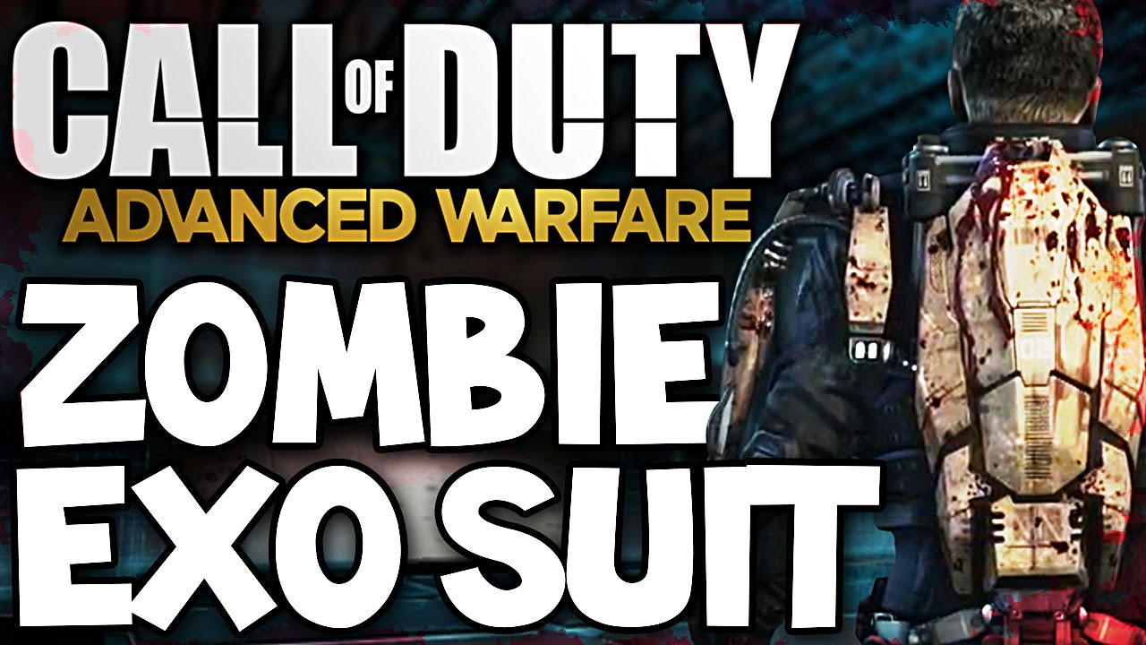 Call Of Duty Advanced Warfare Zombie Exo Suit Super Rare Preview Youtube