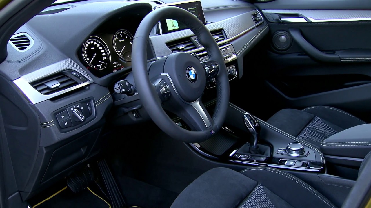 2018 bmw x2 interior design