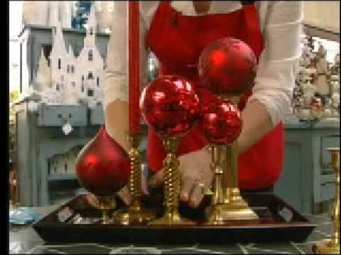 reusing old ornaments youtube - Old Christmas Decorations