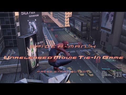 Spider-Man 4 Unreleased Movie Tie-in Game (XBOX 360)