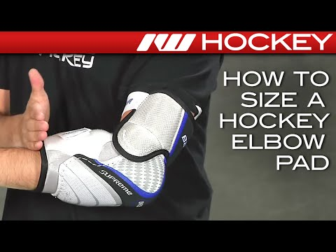 How To Size A Hockey Elbow Pad