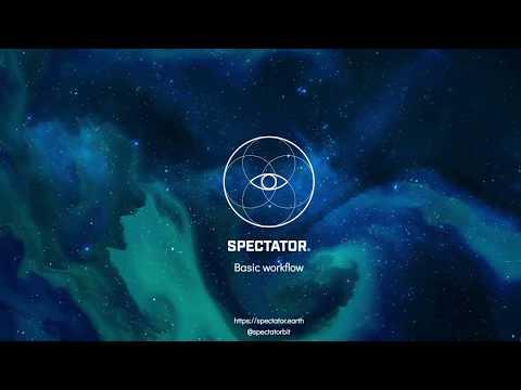 Spectator - basic workflow