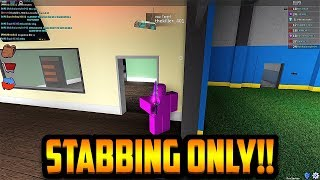 STABBING ONLY CHALLENGE!!! *NO THROWING* (ROBLOX ASSASSIN)