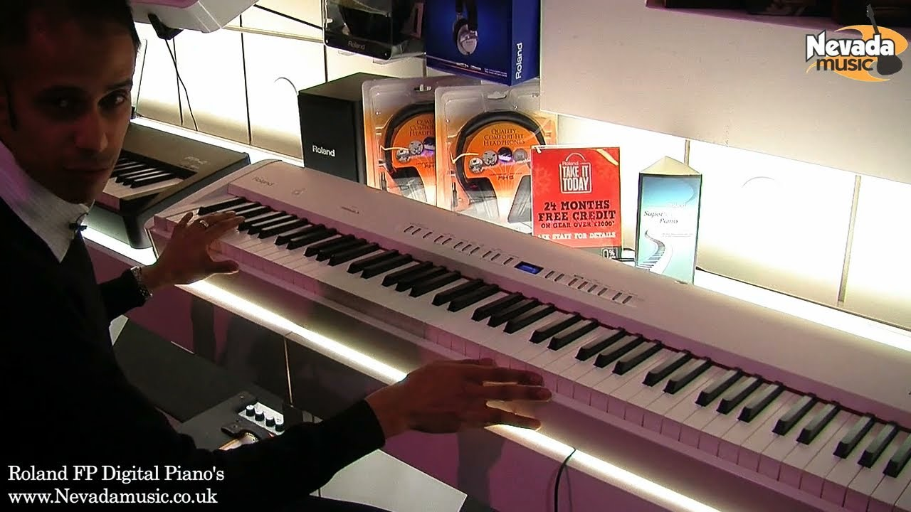 Roland Fp 50 And Fp 80 Digital Piano In Depth Review Youtube