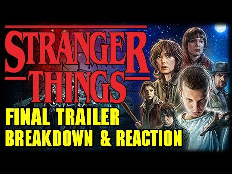 Stranger Things Season 2 Final Trailer Breakdown and Reaction