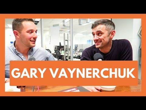 GARY VAYNERCHUK | BUILD THE BIGGEST BUILDING :: Interview at Vaynermedia