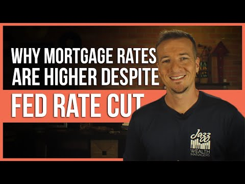 Why Mortgage Rates Higher Even After Fed Rate Cut? | FinTips