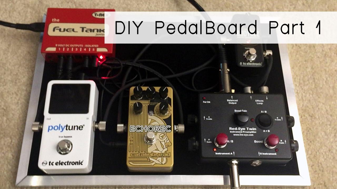 build your own diy pedalboard part 1 youtube. Black Bedroom Furniture Sets. Home Design Ideas