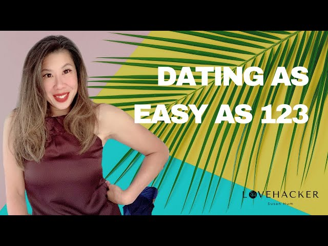 Dating is as easy as 123
