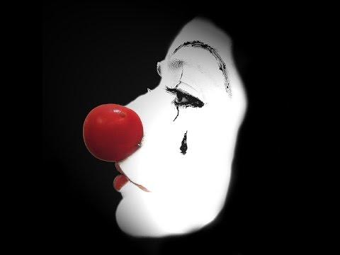 Der traurige clown