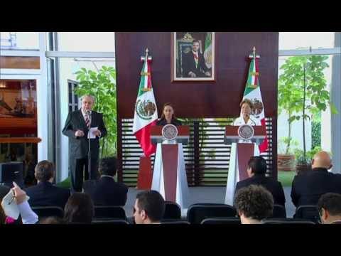 Mensaje a Medios de la Canciller Ruiz Massieu y la Secretaria de Salud Mercedes Juan