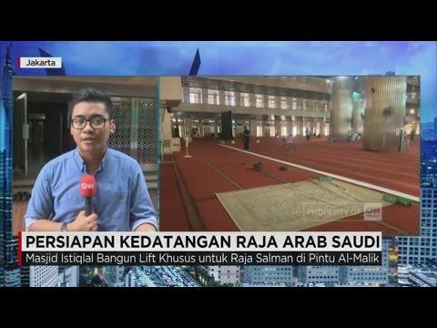 Kedatangan Raja Arab Saudi, Masjid Istiqlal Bangun Lift Khusus Untuk Raja Salman
