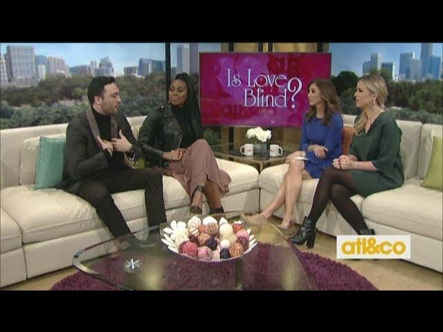 \'Love Is Blind\' stars Lauren Speed and Mark Cuevas