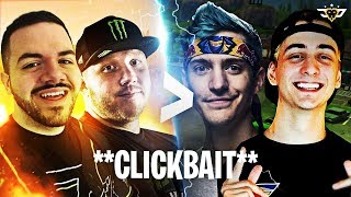 TIMTHETATMAN & COURAGE ARE BETTER THAN NINJA AND CLOAKZY ***CLICKBAIT*** (Fortnite: Battle Royale)