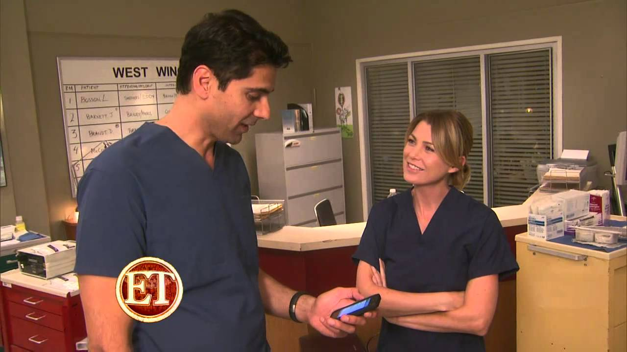 Ellen Pompeo talks to ET about Grey\'s Anatomy Season 9 - YouTube