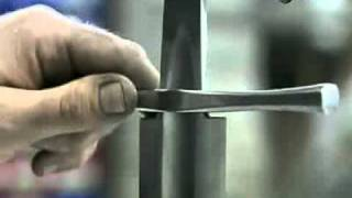 как сделать углубление в металле