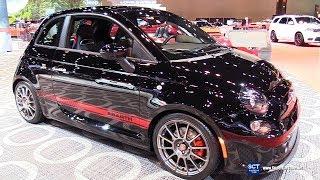2018 Fiat 500 Abarth - Exterior and  Interior Walkaround - 2018 Chicago Auto Show