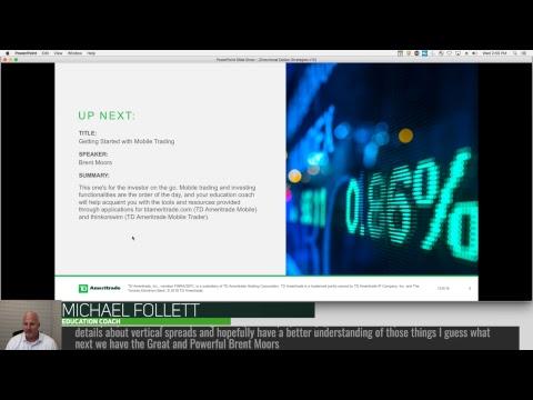 Directional Option Strategies – 12-5-18 – Mike Follett