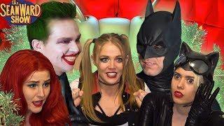 BATMAN & the JOKER vs Harley Quinn & Gotham Sirens! Epic Superhero Parody - The Sean Ward Show